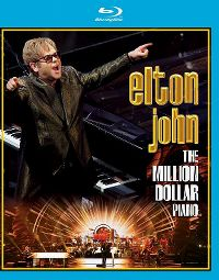 Cover Elton John - The Million Dollar Piano [DVD]